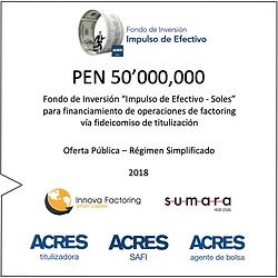 Factoring ACRES SAFI Fondo Impulso Efectivo