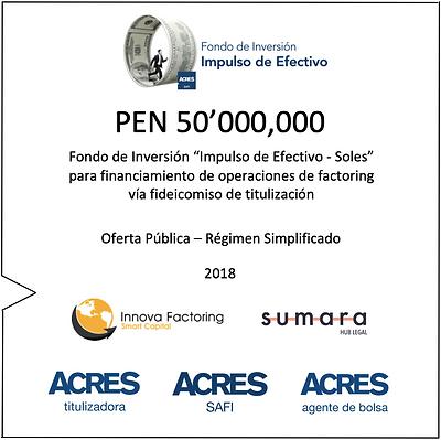 Factoring ACRES SAFI Fondo Inversión Impulso Efectivo