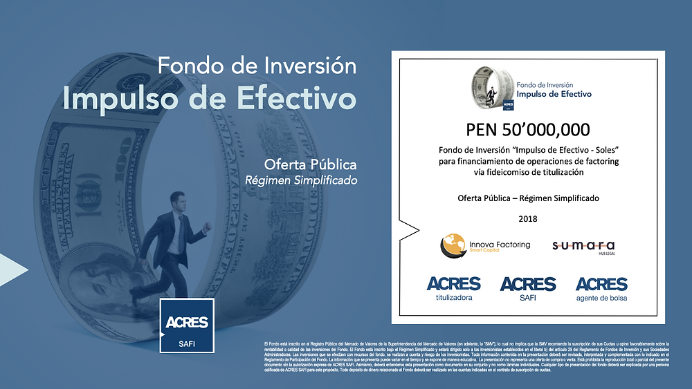 Innova Factoring | Fondo de Inversión | ACRES SAFI | ACRES Finance