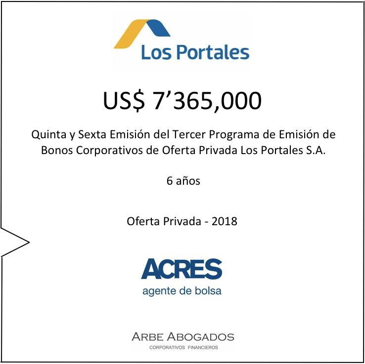 Los Portales | Mercado de Capitales | ACRES Finance
