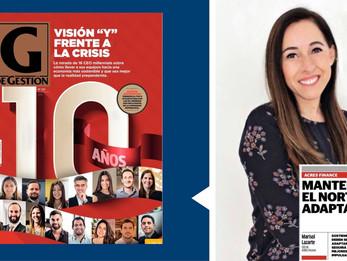 Nuestra CEO Marisol Lazarte compartió su visión frente a la crisis con Revista G de Gestión
