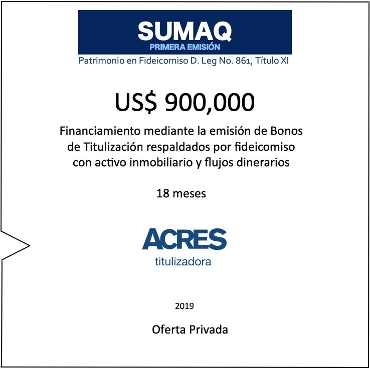ACRES Titulizadora | ACRES Finance
