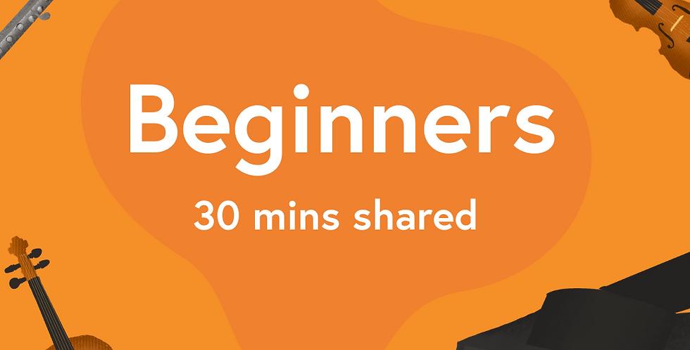 Shared Beginner (All Instruments)