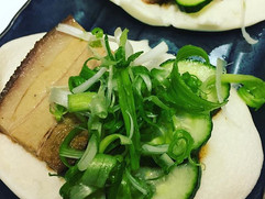 Cha Shu Bao. Pork Belly. English Cucumber. Scallions. Bao Sauce. ._._.jpg