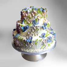 Wedding cake with Pansies.jpg
