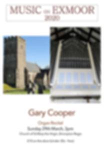 Music on Exmoor 2020 - I. Gary  Cooper,