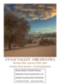 Culm Valley Orchestra poster [26.01.20]-