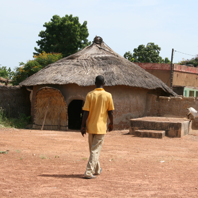 bij de chef du village