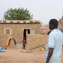 een huis in Sabou