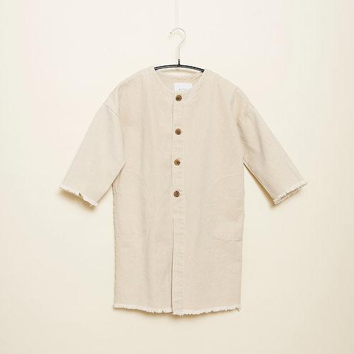 帆布七分袖ジャケット