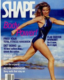 Shape Magazine with LaReine