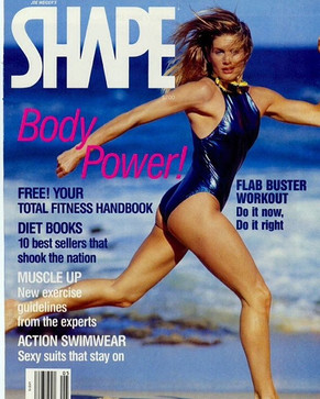 Shape Magazine with LaReine