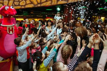 новогоднее шоу для детей
