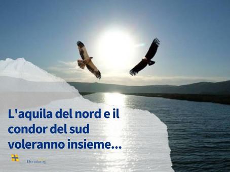 L'Aquila del Nord e il Condor del Sud voleranno insieme…