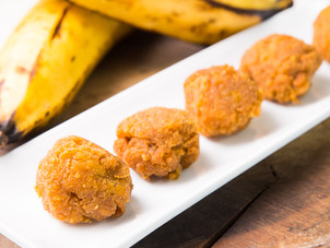 Sweet Cinnamon Plantain Balls Recipe