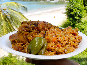 Trini Chicken Pelau Recipe