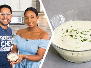How To Make Trini Chadon Beni & Garlic Mayonnaise