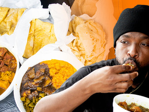 Eating The Entire Menu at Mona's Roti Shop in Marabella, T&T | Foodie Finds