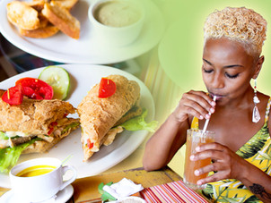 Brunch on The Deck At Shore Things in Lambeau, Tobago | Foodie Finds