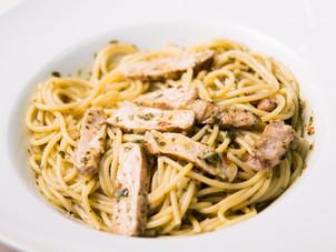 Pork Chow Pesto Pasta Recipe