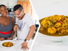 How To Make Trini Curry Shrimp