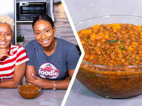 How To Make Trini Stewed Lentils