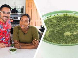How To Make Trini Chadon Beni Sauce