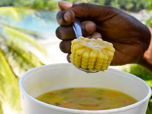 Trinidadian Corn Soup Recipe