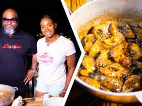 How To Make Trini Mango Talkari (Masala Mango)