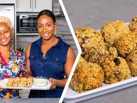 How To Make Granola Crusted Tuna Balls