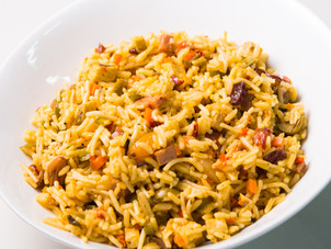 Super-easy Christmas Rice Recipe