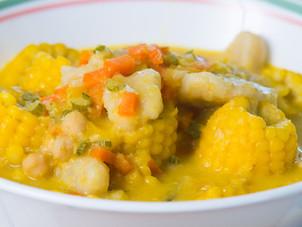 Trini Corn Soup Recipe by Chef Jeremy Lovell