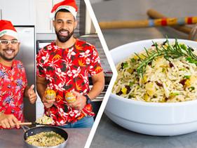 How To Make Trini Christmas Rice (Vegetarian)