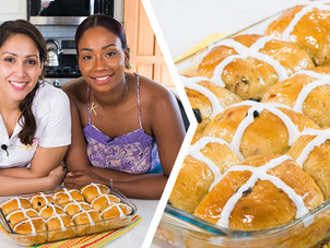How To Bake Trini Hot Cross Buns