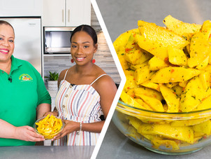 How To Make Trini Mango Chow