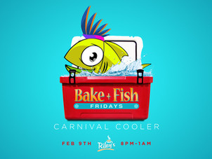Bake and Fish Fridays - Carnival Cooler Lime