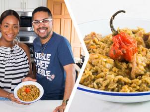 How To Make Trini Black Eyed Peas & Rice