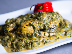 Trini Callaloo with Crab Recipe by Chef Jeremy Lovell