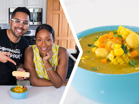 How To Make Trini Corn Soup