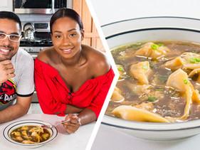 How To Make Trini-Style Chicken Wonton Soup