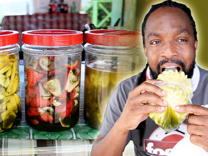 Trini Snacks & Sweets at the Maracas Beach Lookout | Foodie Finds