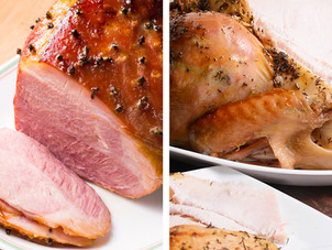 Christmas Ham & Turkey Recipes