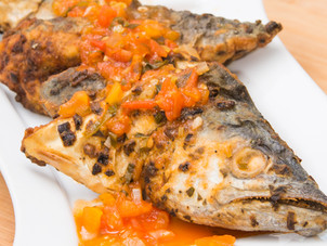 Fried Fish & Tomato Sauce Recipe