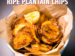 Quick & Easy Ripe Plantain Chips Recipe