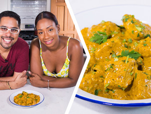 How To Make Butter Curry Veggie Chicken Nuggets