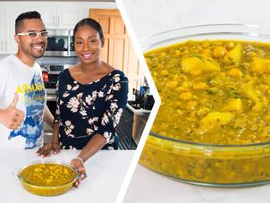 How To Make Curry Channa & Aloo