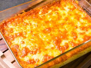 Cheesy Ground Provision Pie Recipe