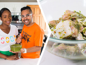 How To Wash & Season Chicken Like A Trini