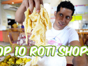 Top 10 Roti Shops in Trinidad