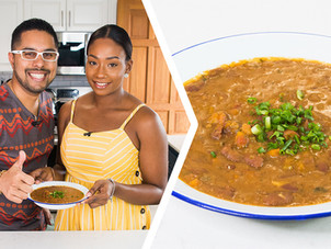 How To Make Trini Stewed Red Beans